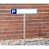 Rvs inslagstandaard voor P-borden