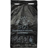Sachets à déjections canines, noir, 2000 pièces