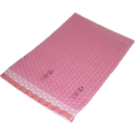 Sachets d'emballage à bulles d'air en PE, 160 x 310 mm, 800 pièces