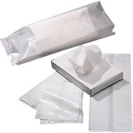 Sachets hygiéniques en polyéthylène, 250 x 150 mm, 750 pièces