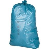 Sacs poubelle LDPE PREMIUM , 120 litres, bleu, 250 pièces