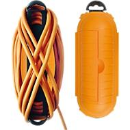 Safe-Box für Kabel, gelb, Schutzklasse IP44, extragroß, für Innen- und Außenbereich