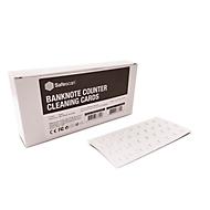 Safescan Reinigungskarten für automatische Geldscheinprüfer, auf Wasserbasis