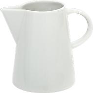 Sahnegießer Solea, weiß, Porzellan, 0,25 L