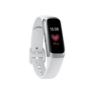 Samsung Galaxy Fit - silber - Aktivitätsmesser mit Riemen - weiß - 32 MB