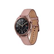 Samsung Galaxy Watch 3 - mystic bronze - intelligente Uhr mit Band - 8 GB