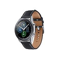 Samsung Galaxy Watch 3 - Mystic Silver - intelligente Uhr mit Band - 8 GB