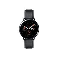 Samsung Galaxy Watch Active 2 - schwarzes Edelstahl - intelligente Uhr mit Band - schwarz - 4 GB - nicht angegeben
