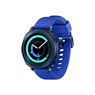 Samsung Gear Sport SM-R600 - blau - intelligente Uhr mit Riemen - Blau - 4 GB