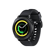 Samsung Gear Sport SM-R600 - schwarz - intelligente Uhr mit Riemen - schwarz - 4 GB