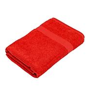 Sauna-/Badetuch Basic, Rot, Standard, Auswahl Werbeanbringung optional