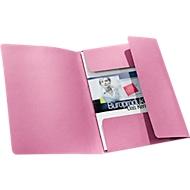 SCHÄFER SHOP Dokumentenmappe, DIN A4, Karton, rot