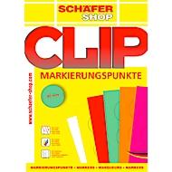 Schaefer Shop étiquettes rondes de marquage, Ø 40 mm, 10 feuilles de 24 étiquettes, rose fuchsia