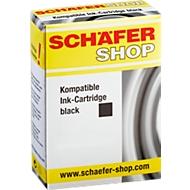 Schäfer Shop inktcartridges, 2 stuks, identiek aan LC-1240BK, zwart