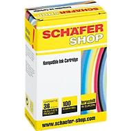 Schäfer Shop inktpatroon compatibel met LC-970BK, zwart