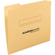 SCHÄFER SHOP inlegmap, A4, karton, tab links