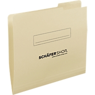 SCHÄFER SHOP inlegmap, A4, karton, tab rechts