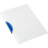 SCHÄFER SHOP Klemmmappe Swing S, DIN A4, PP, mit Clip, blau