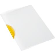 SCHÄFER SHOP Klemmmappe Swing S, DIN A4, PP, mit Clip, gelb