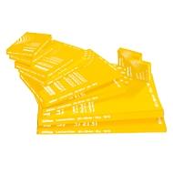 SCHÄFER SHOP Laminierfolien, 303x426 mm passend für DIN A3, 80 mic., 5 + 1 GRATIS