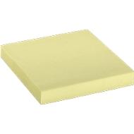Schäfer Shop notes, geel, 75 x 75 mm, 1 x 100 vel