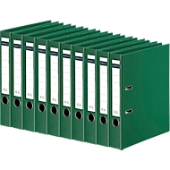 SCHÄFER SHOP ordner, A4, rugbreedte 50 mm, 10 stuks, groen