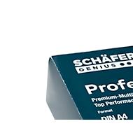 SCHÄFER SHOP Papier Clip Printech A4, 500 feuilles