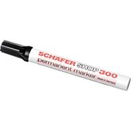SCHÄFER-SHOP Permanent Marker 300, 1 Stück, schwarz