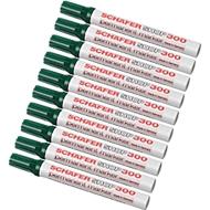 SCHÄFER-SHOP Permanent marker 300, 10 stuks, groen