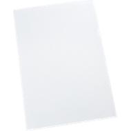 SCHÄFER SHOP pochettes coin en PP, A4, nervurées, transparentes, 90 microns, 100 pièces