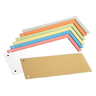 SCHÄFER SHOP scheidingsstroken, karton, gesorteerd op kleur, 200 stuks