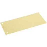 SCHÄFER SHOP Sparset Trennstreifen, aus Karton, 300 Stück, gelb