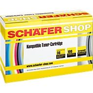 Schäfer Shop Toner, kompatibel zu CF280X, schwarz