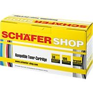 SCHÄFER SHOP Tonerkassette SET baugleich OKI 44973534-Serie schwarz/cyan/magenta/gelb
