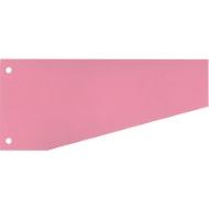 SCHÄFER SHOP Trapeztrennstreifen, Karton, 100 Stück, rosa