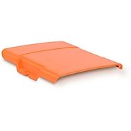 Scharnierend deksel voor mobiel tankstation CEMO DT-Mobil Easy 210 l, oranje