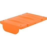 Scharnierend deksel voor mobiel tankstation CEMO DT-Mobil Easy 430 l/460 l/600 l/980 l & DT-Mobil Easy 850/100 l, oranje