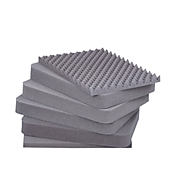 Schaumstoffeinlage f. für 30-Liter-Boxen, 6-teilig, PU-Würfelschaum