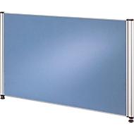 Scheidingswand CLUBWORK, breed, B 775 x D 22 x H 450 mm, lichtblauw