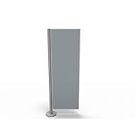 Scheidingswand, Silent Line Plus, 550 x 1700 mm, lichtgrijs