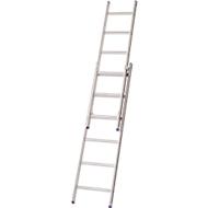 Schiebeleiter ohne Seilzug, Lila-Serie, 8 Stufen