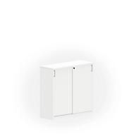 Schiebetürenschrank NEVADA, B 1200 x H 1160 mm, weiß