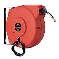 Schlauchaufroller CEMO, Kunststoff, für Druckluft, geschlossen, max. 20 bar, Schlauchlänge 15m, B 500 x T 420 x H 210 mm