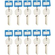 Schlüsselanhänger, 10 Stück, blau