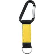 Schlüsselanhänger ImageClick, schwarz/gelb