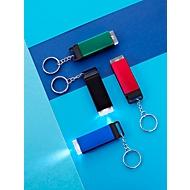 Schlüsselanhänger, Schwarz, Standard, Auswahl Werbeanbringung optional