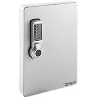 Schlüsselschrank, Elektronikschloss, 141 Haken, lichtgrau