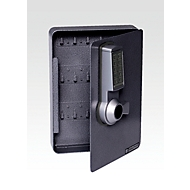 Schlüsselschrank, Elektronikschloss, 24 Haken, anthrazit