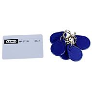 Schlüsselset CEMO für CUBE Dieseltank, 5 Benutzerschlüssel