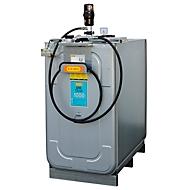 Schmierstoffkompaktanlage CEMO ECO UNI 1000, pneumatische Pumpe für Frischöl, 4 m Schlauch inkl. Schlauchhalter